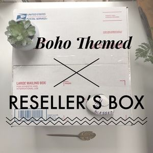 Boho Themed Reseller's Box Between Sky and Earth